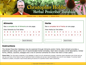 Herbal Prescriber Database