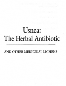 Usnea-booklet-coverpage